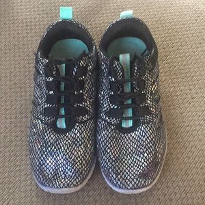 Girls Justice sneakers size 2